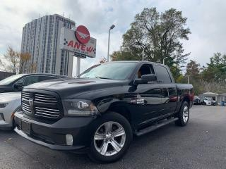 Used 2014 RAM 1500 Sport leather loaded for sale in Cambridge, ON