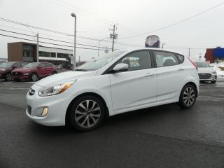 Used 2016 Hyundai Accent GLS TOIT+MAGS 16'' for sale in St-Georges, QC