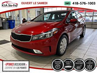 Used 2017 Kia Forte EX *CARPLAY *CAMERA *CRUISE *A/C for sale in Québec, QC
