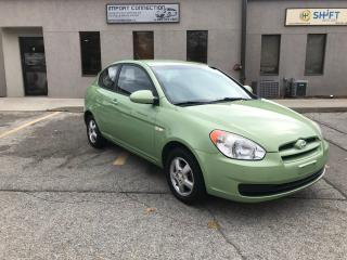 Used 2009 Hyundai Accent 3dr HB Man L, CERTIFIED ! for sale in Burlington, ON