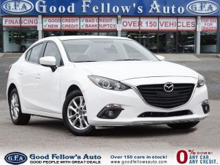 Used 2015 Mazda MAZDA3 GS MODEL, CONVENIENCE PACKAGE, 2.0L SKYACTIV, 4CYL for sale in Toronto, ON