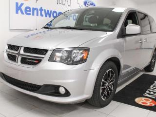 Used 2018 Dodge Grand Caravan GT FWD with heated power leather seats, heated steering wheel, back up cam for sale in Edmonton, AB
