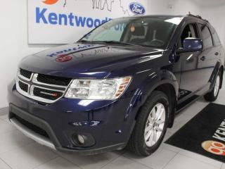 Used 2017 Dodge Journey SXT AWD with push start/stop, back up cam and rear climate control for sale in Edmonton, AB