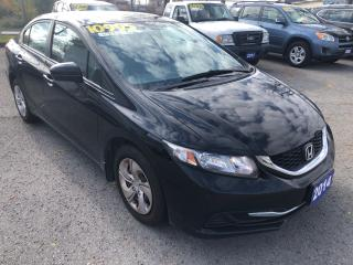 Used 2014 Honda Civic LX for sale in St Catharines, ON