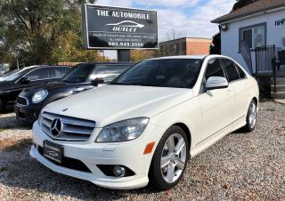 Used 2009 Mercedes-Benz C 300 3.0L 4MATIC AWD LEATHER SUNROOF BLUETOOTH for sale in Mississauga, ON