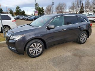 Used 2015 Acura MDX TECH; NAV, BLUETOOTH, BACKUP CAM, SUNROOF AND MORE for sale in Edmonton, AB