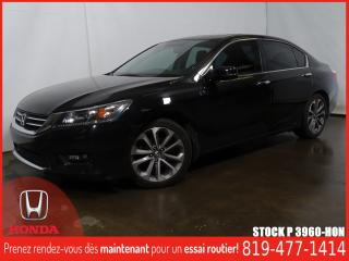 Used 2015 Honda Accord Sport+GRÉLEC+TOITOUV+MAG+FOG+ for sale in Drummondville, QC