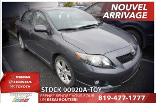 Used 2010 Toyota Corolla XRS* 2.4L* 1 PROPRIO* for sale in Drummondville, QC