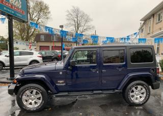 Used 2013 Jeep Wrangler Sahara Unlimited 4X4 for sale in Dunnville, ON
