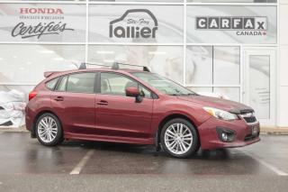 Used 2013 Subaru Impreza HATCHBACK TOURING ***JAMAIS ACCIDENTE*** for sale in Québec, QC