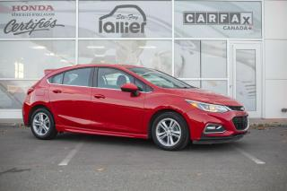 Used 2017 Chevrolet Cruze HATCHBACK LT TURBO RS ***UN SEUL PROPRIE for sale in Québec, QC