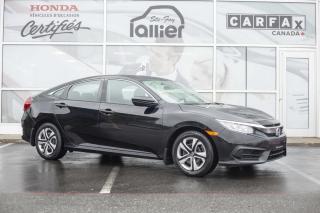 Used 2016 Honda Civic LX ***GARANTIE GLOBALE JUIN 2021** for sale in Québec, QC