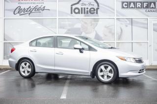 Used 2012 Honda Civic LX ***GARANTIE 10 ANS/200 000 KM*** for sale in Québec, QC