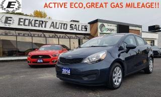 Used 2014 Kia Rio LX+ ACTIVE ECO, GREAT FUEL ECONOMY!! for sale in Barrie, ON