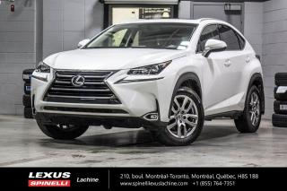 Used 2017 Lexus NX 200t PREMIUM AWD; **RESERVE / ON-HOLD** MONITEUR ANGLES MORTS - CAMERA DE RECUL - VOLANT CHAUFFANT - SONAR DE STATIONNEMENT for sale in Lachine, QC