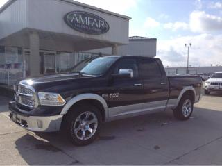 Used 2016 RAM 1500 Laramie / SUNROOF / LOADED / NO PAYMENTS FOR 6 MON for sale in Tilbury, ON