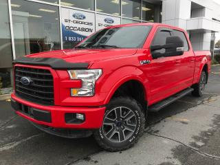 Used 2016 Ford F-150 XLT SPORT CREW 6 1/2 302 A 1 SEUL PROPRIO IMPECCAB for sale in St-Georges, QC