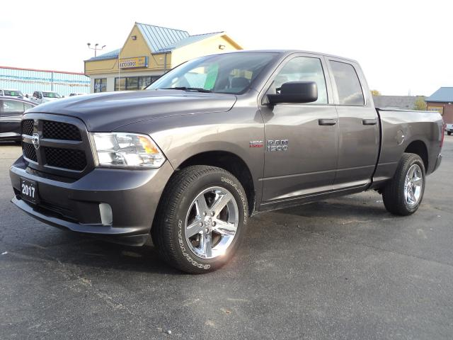 2017 RAM 1500 Express QuadCab 4x4 5.7L Hemi 6ftBox
