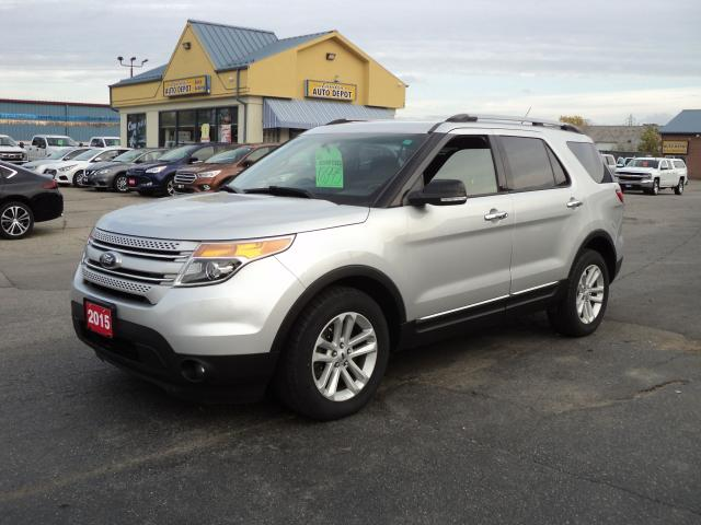 2015 Ford Explorer XLT 3.5L  7 Passenger Bluetooth