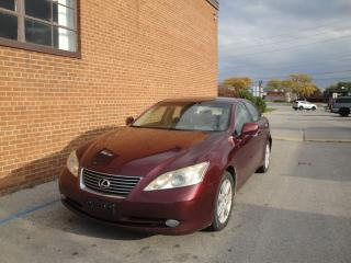 Used 2007 Lexus ES 350 LEATHER/SUNROOF/ for sale in Oakville, ON