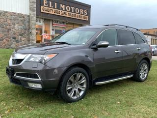 Used 2012 Acura MDX ELITE PKG.AWD.NAVI.TV-DVD.BLIS.BLUETOOTH.ALLOYS. for sale in North York, ON