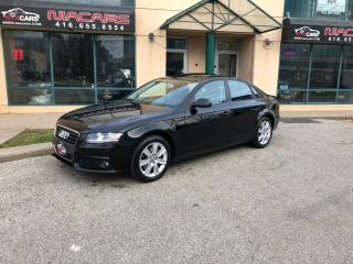 Used 2011 Audi A4 2.0T Premium**LOW KM**NO ACCIDENT** for sale in North York, ON