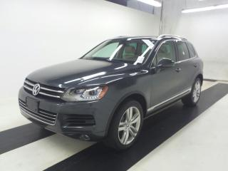 Used 2012 Volkswagen Touareg EXECLINE for sale in Oakville, ON
