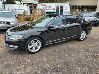 Used 2012 Volkswagen Passat Highline Leather Loaded New Cond. for sale in Scarborough, ON