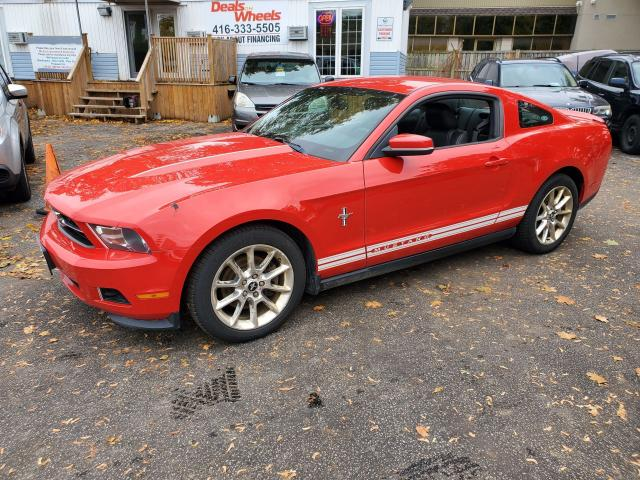 2011 Ford Mustang Auto Bright Red