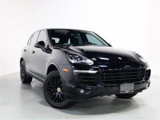 Used 2017 Porsche Cayenne S HYRID   SPORTS CHRONO   WARRANTY for sale in Vaughan, ON