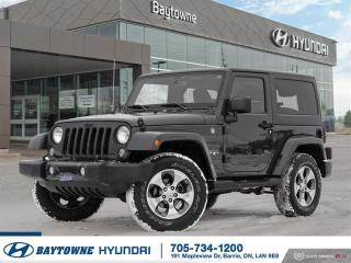 Used 2016 Jeep Wrangler Sahara *AUTO*, Hard and Soft tops, Navigation for sale in Barrie, ON