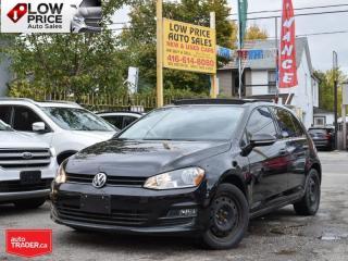 Used 2017 Volkswagen Golf Comfortline*Leather*6Speed*Sunroof*BlackPack* for sale in Toronto, ON