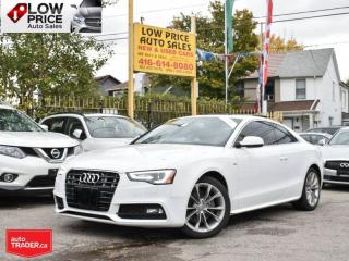 Used 2016 Audi A5 SLine*Navi*Camera*HTDSeats*XenonPack*AudiWarranty* for sale in Toronto, ON