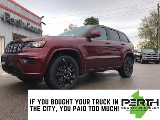 New 2020 Jeep Grand Cherokee Altitude | Tow Package | Navigation | Sunroof | Po for sale in Mitchell, ON