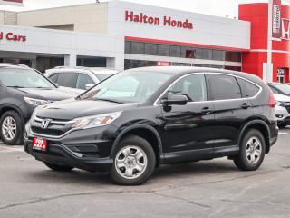 Used 2015 Honda CR-V LX 2WD|SERVICE HISTORY ON FILE for sale in Burlington, ON