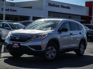 Used 2016 Honda CR-V LX AWD|NO ACCIDENTS|ONE OWNER for sale in Burlington, ON