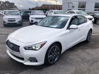 Used 2015 Infiniti Q50 LIMITIED W/LEATHER  ROOF  NAVI  BACKUP CAMERA for sale in Ottawa, ON