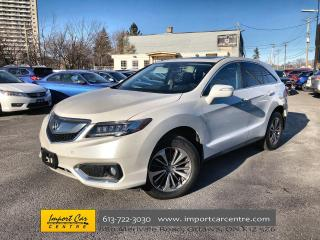 Used 2017 Acura RDX Elite LEATHER  ROOF  NAVI  BLIS  BACKUP CAMERA for sale in Ottawa, ON