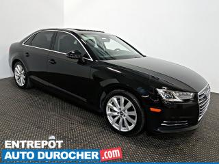 Used 2017 Audi A4 Komfort AWD TOIT OUVRANT - AIR CLIMATISÉ - Cuir for sale in Laval, QC