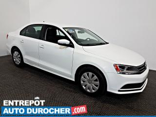 Used 2015 Volkswagen Jetta Sedan TRENDLINE Automatique - A/C - Sièges Chauffants for sale in Laval, QC