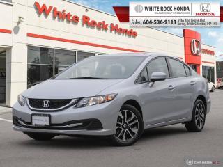Used 2015 Honda Civic Sedan EX for sale in Surrey, BC