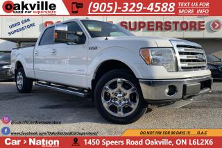 Used 2013 Ford F-150 4WD LARIAT | 5.5FT BOX | LEATHER | TONNEAU COVER for sale in Oakville, ON