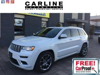 Used 2017 Jeep Grand Cherokee 4WD Summit for sale in Nobleton, ON