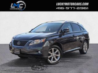 Used 2010 Lexus RX 350 AWD TOURING-ROOF-BACK UP CAMERA-NAVI-HEADREST DVDS-LEATHER for sale in Toronto, ON