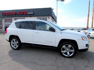 Used 2012 Jeep Compass Limited 4WD LEATHER SUNROOF CERTIFIED for sale in Milton, ON