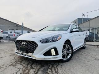 Used 2019 Hyundai Sonata SUNROOF|REAR VIEW|POWER, LEATHER, HEATED SEATS|ALLOYS for sale in Brampton, ON