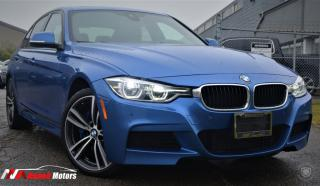 Used 2017 BMW 3 Series 340i xDrive|M-SPORT PKG|NAVI|360 CAMERA|SUN ROOF|ALLOYS! for sale in Brampton, ON