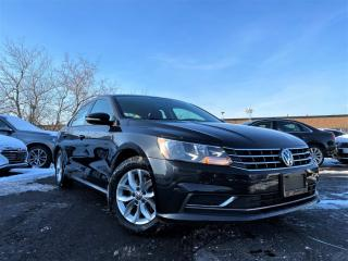 Used 2018 Volkswagen Passat AUTO|BACKUP CAMERA|STABILITY CONTROL|HEATED SEATS & MORE! for sale in Brampton, ON