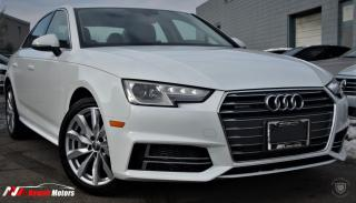 Used 2018 Audi A4 2.0 TFSI quattro S tronic FULLY LOADED w/SUNROOF/HEATEDSEATS for sale in Brampton, ON