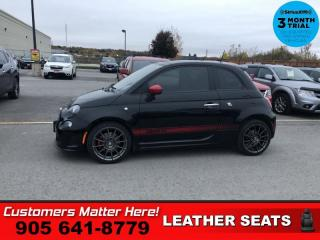 Used 2015 Fiat 500 Abarth  AUTO TURBO ROOF LEATH BT HS for sale in St. Catharines, ON